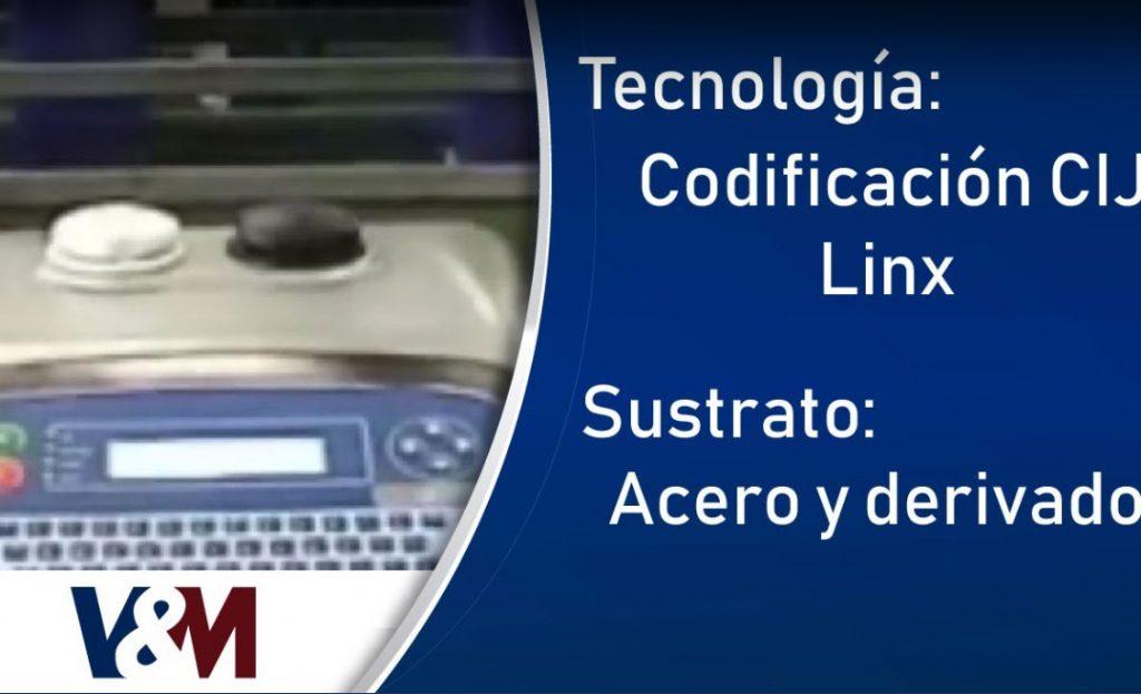 Codificación CIJ Linx en aceros y derivados