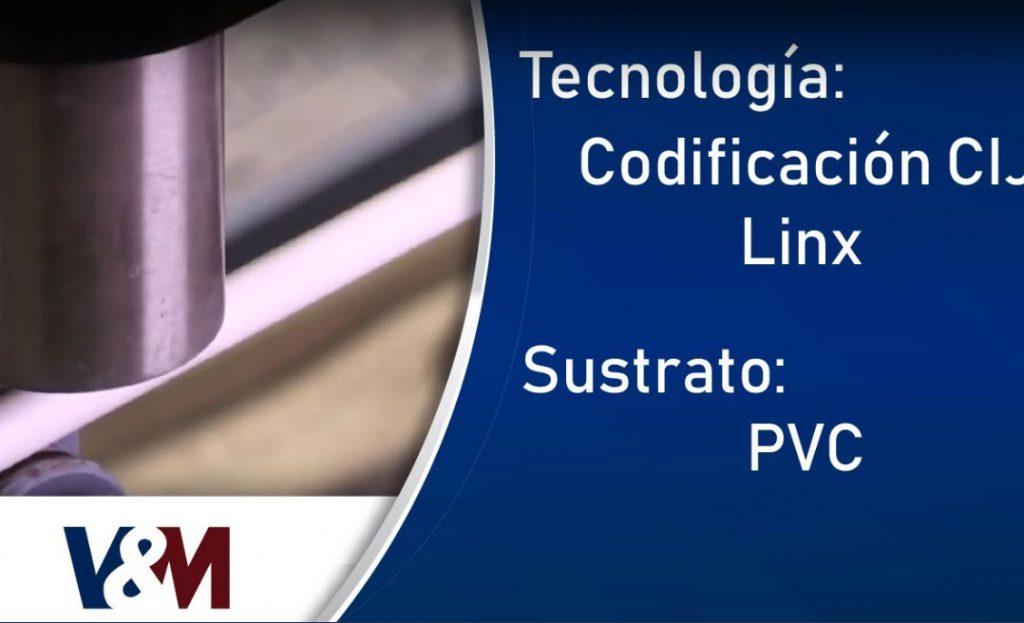 Codificación CIJ Linx en altas velocidades para cables de PVC