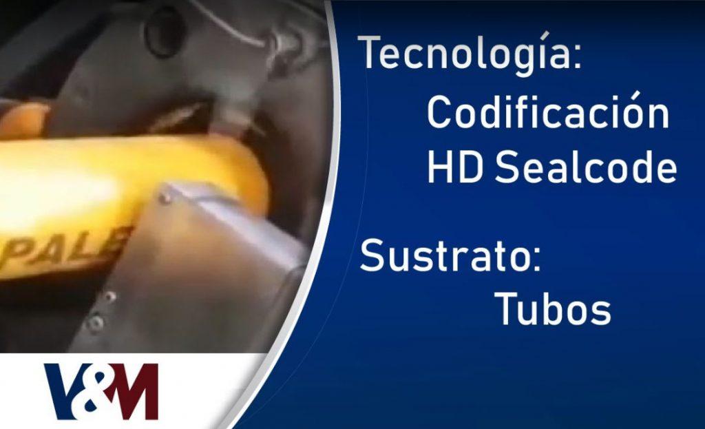 Codificación HD Sealcode en altas temperaturas