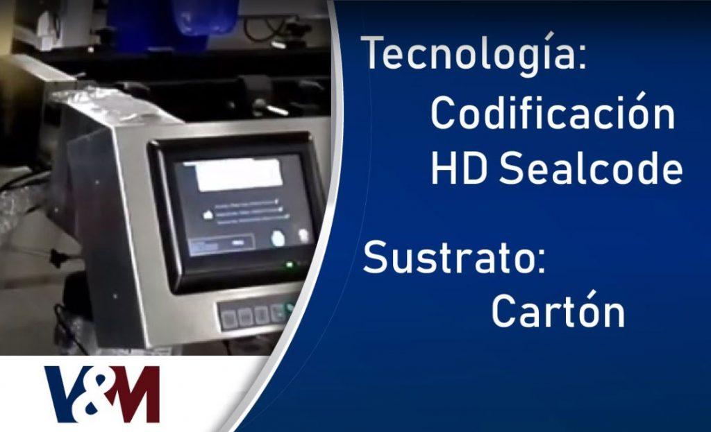 Codificación HD Sealcode en cajas