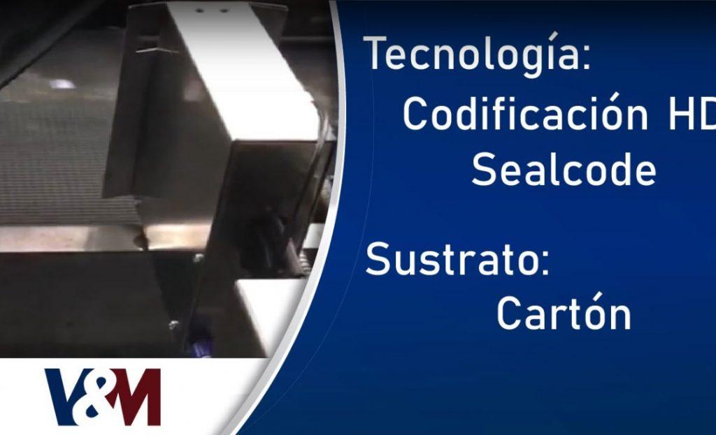 Codificación HD Sealcode en cajas #CodificaciónIndustrial