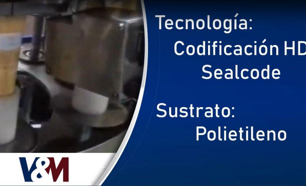 Codificación HD Sealcode en envases de polietileno de cosméticos