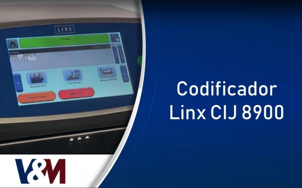 Codificador Linx 8900
