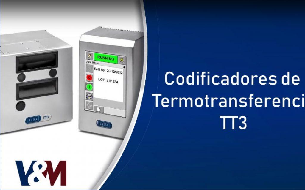 Codificadores de termotransferencia TT3