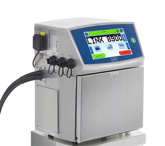 Impresora de inyección de tinta continua Linx 8900