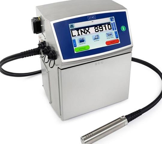 Impresora de inyección de tinta continua Linx 8910