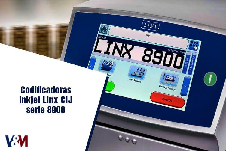 codificadoras inkjet linx cij serie 8900 cover