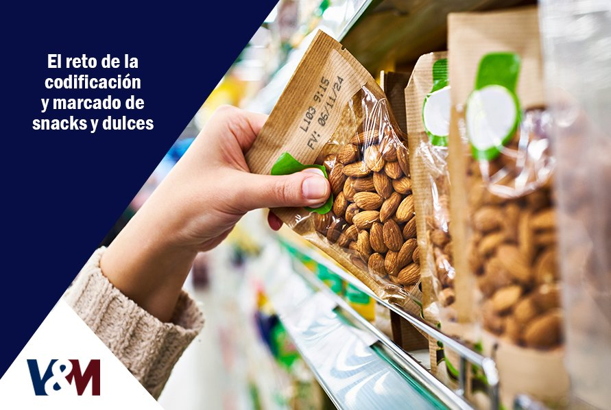 codificacion y marcado de snacks y golosinas