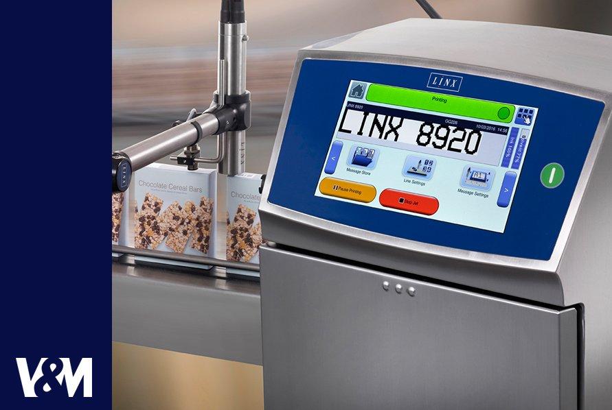 impresoras industriales de inyeccion de tinta continua