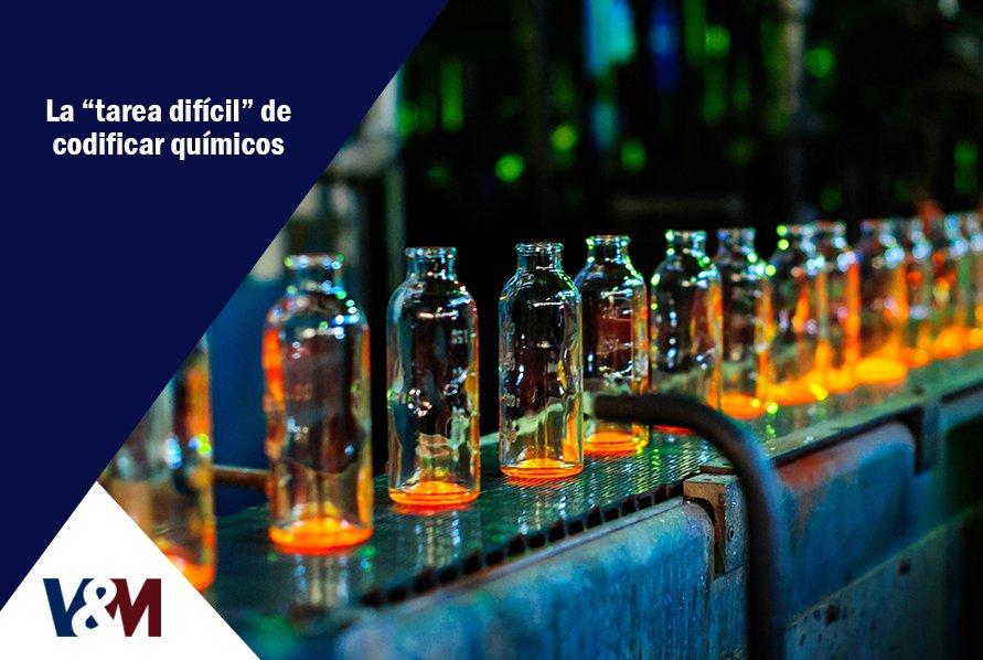 codificación de productos químicos