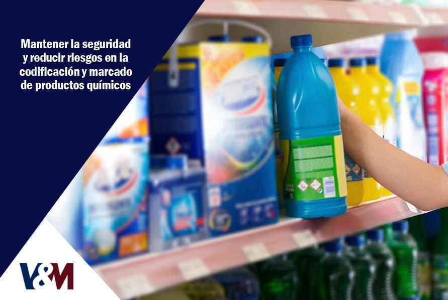 codificacion y marcado de productos químicos