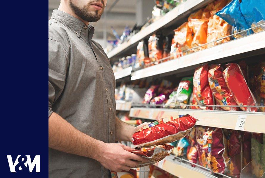 soluciones del marcado y codificación de snacks