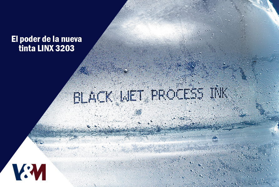 nueva tinta LINX 3203 para codificadoras industriales