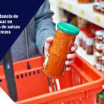 codificación en productos de salsas