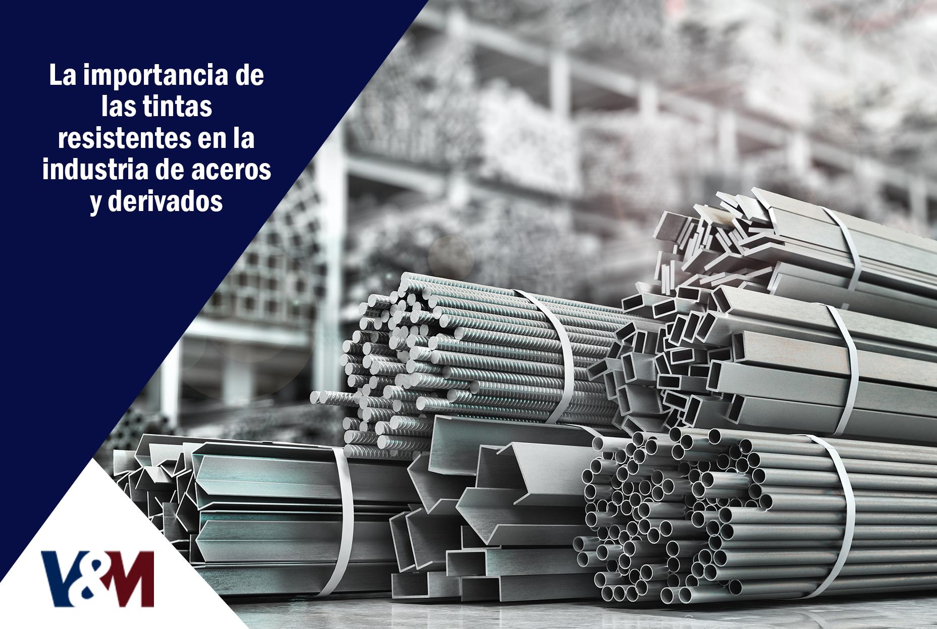 tintas resistentes en la industria de aceros