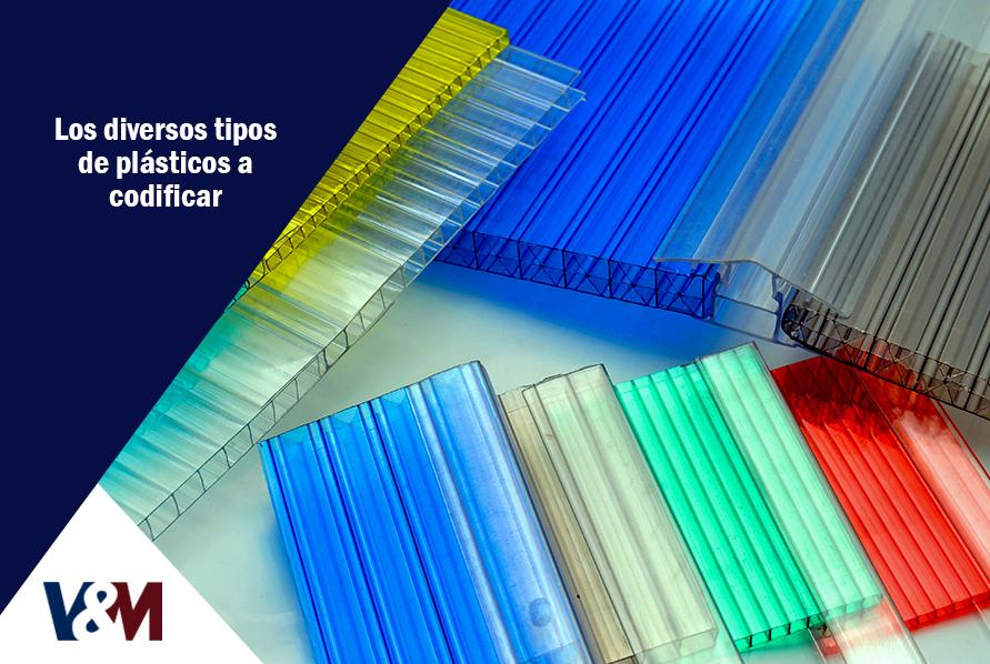 tipos de plásticos a codififcar