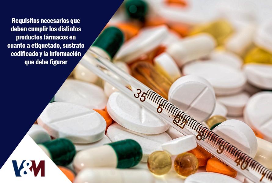 requisitos para cumplir distintos productos fármacos