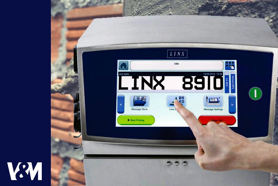 codificadoras linx 8910 laser