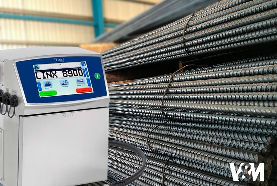 impresoras de inyeccion de tinta-continua, impresora de metales