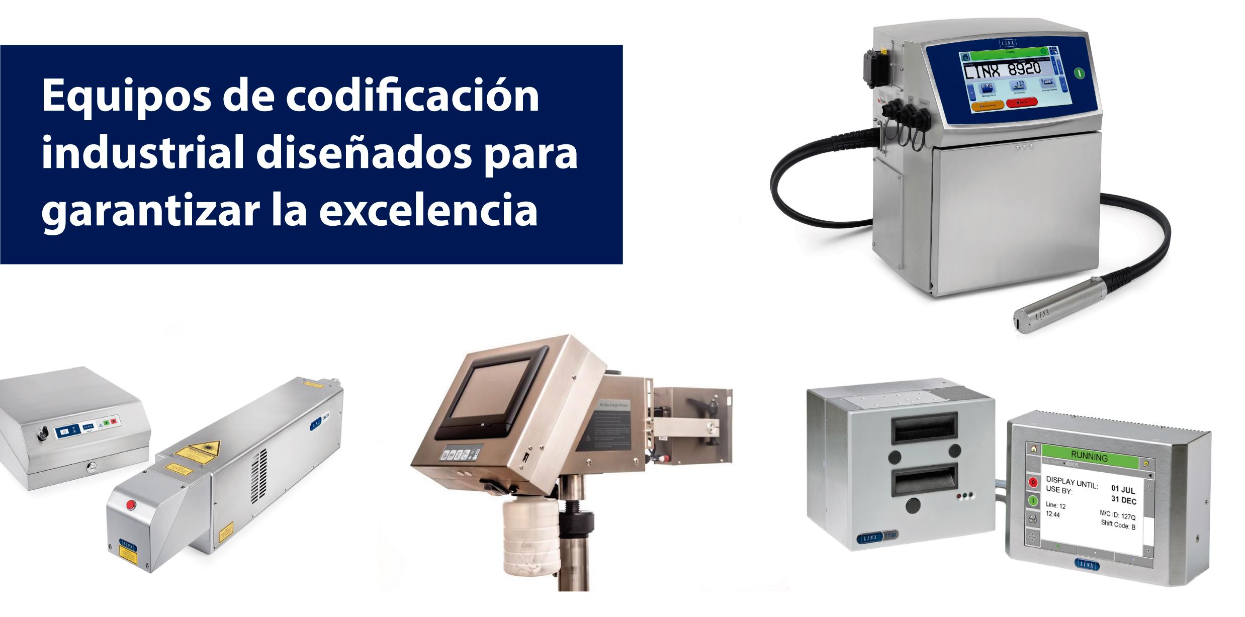 codificadoras linx