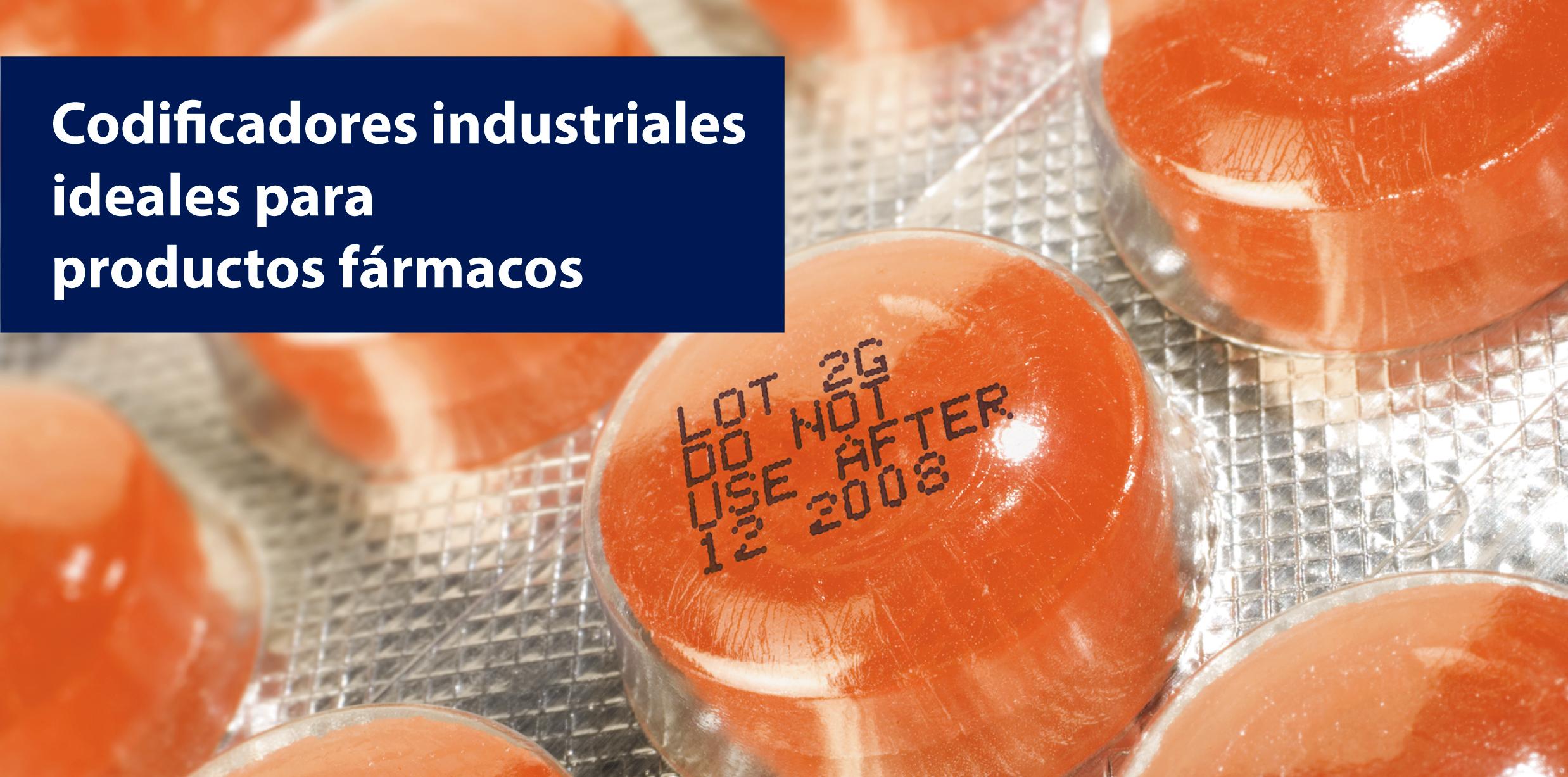 codificadores industriales ideales para productos farmacos