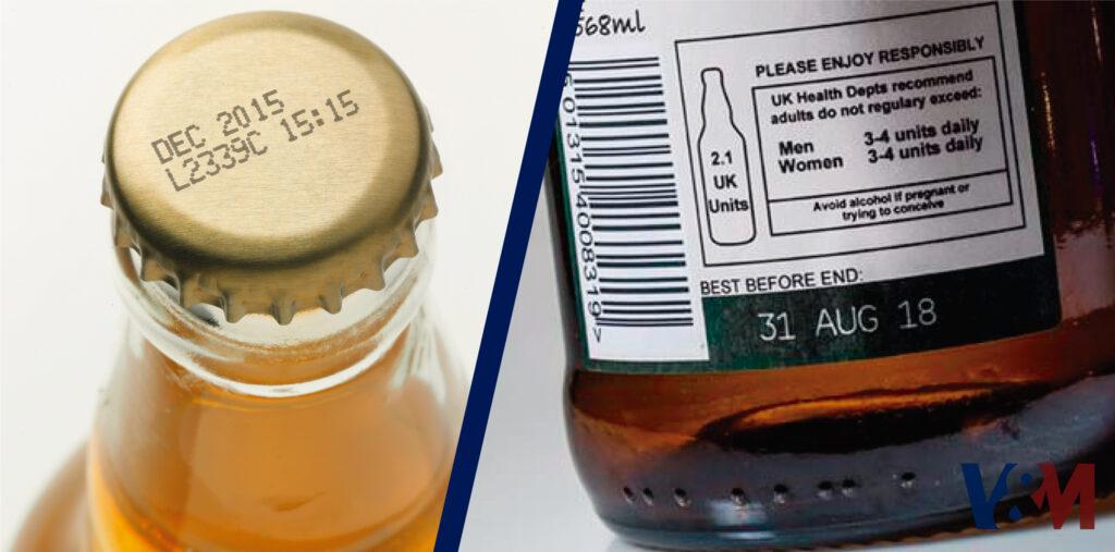 codificación de bebidas alcohólicas