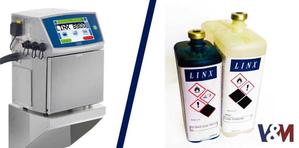 tintas y solventes linx