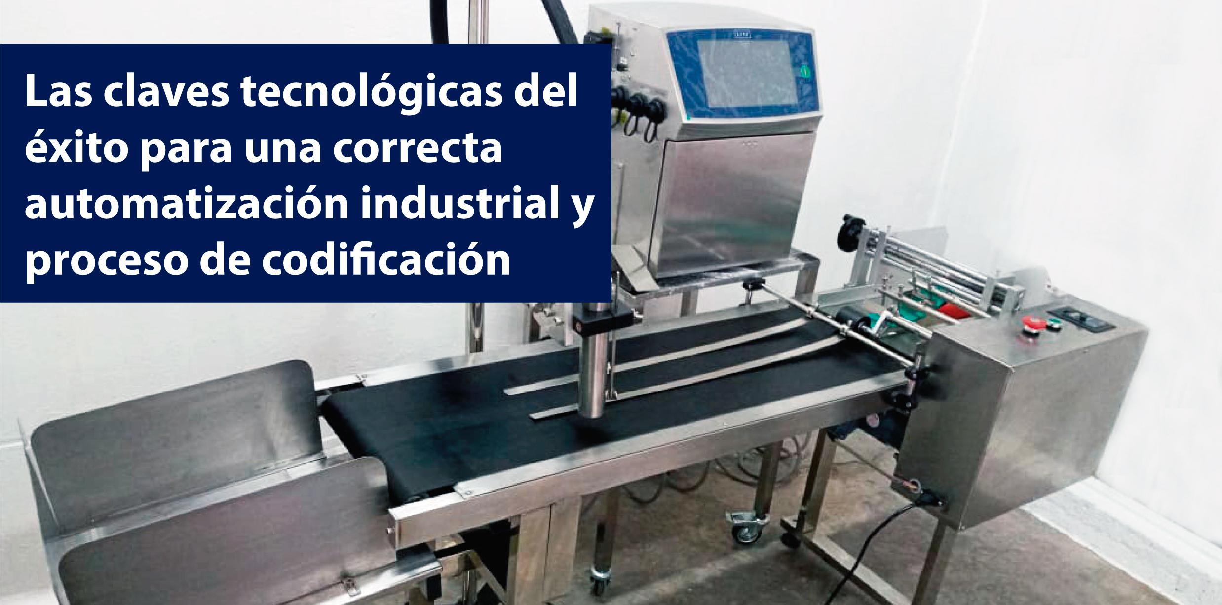 automatización y codificación industrial