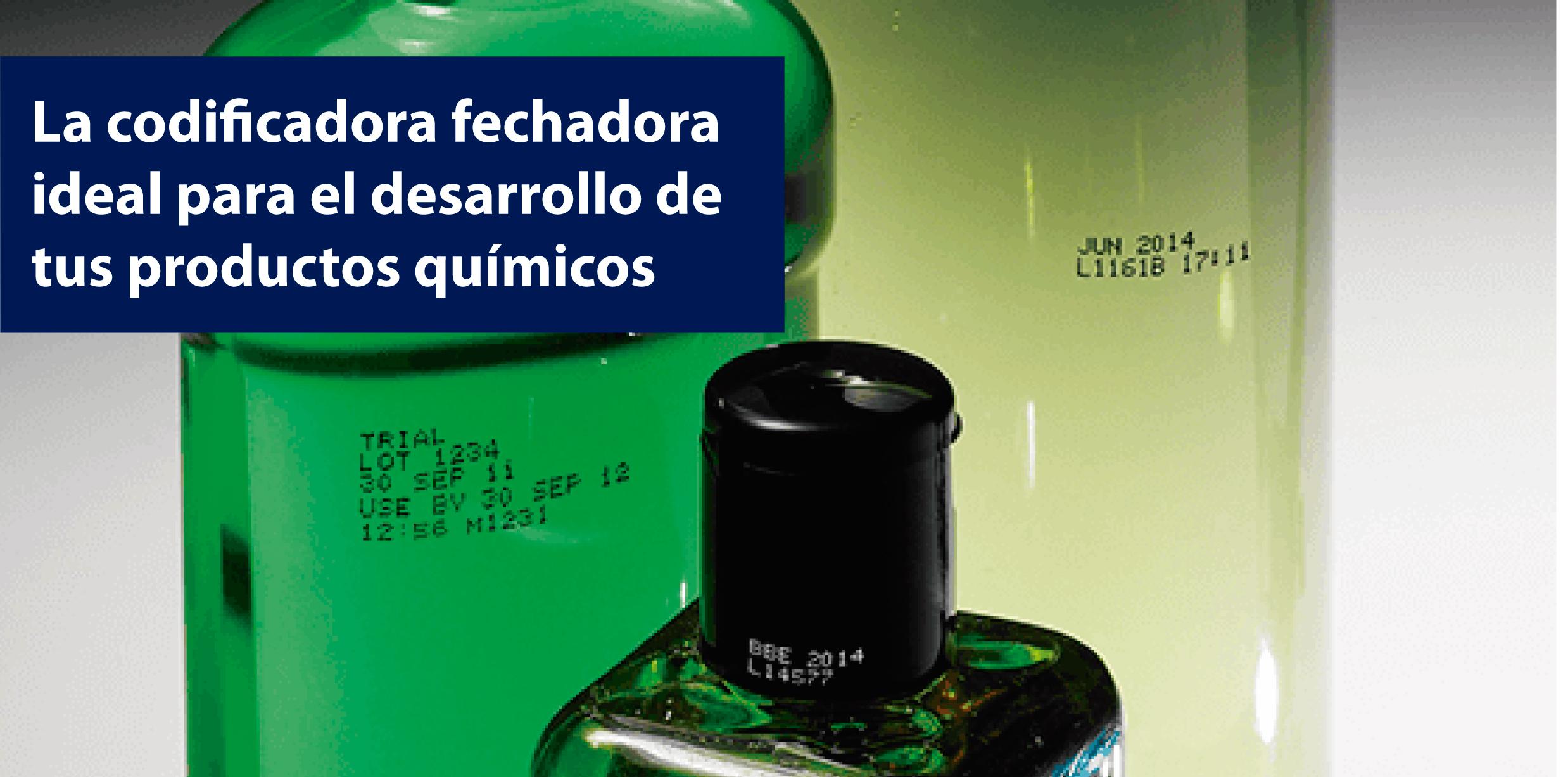 codificadora fechadora de productos quimicos