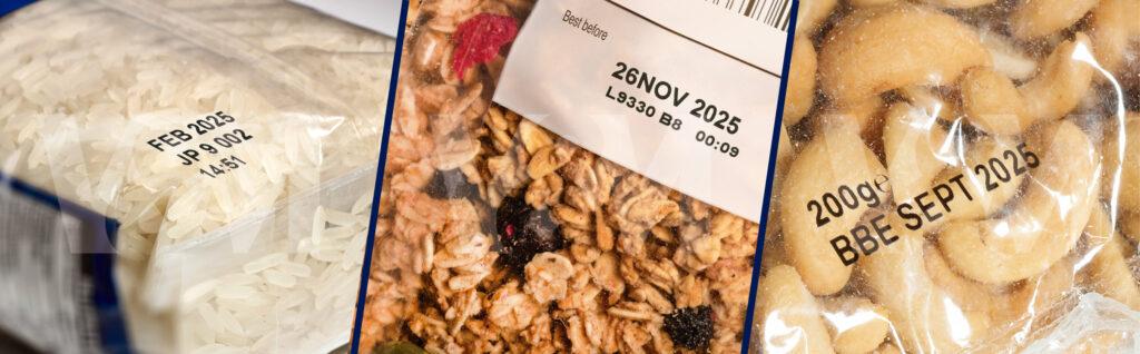 codificacion en cereales, granos y semillas