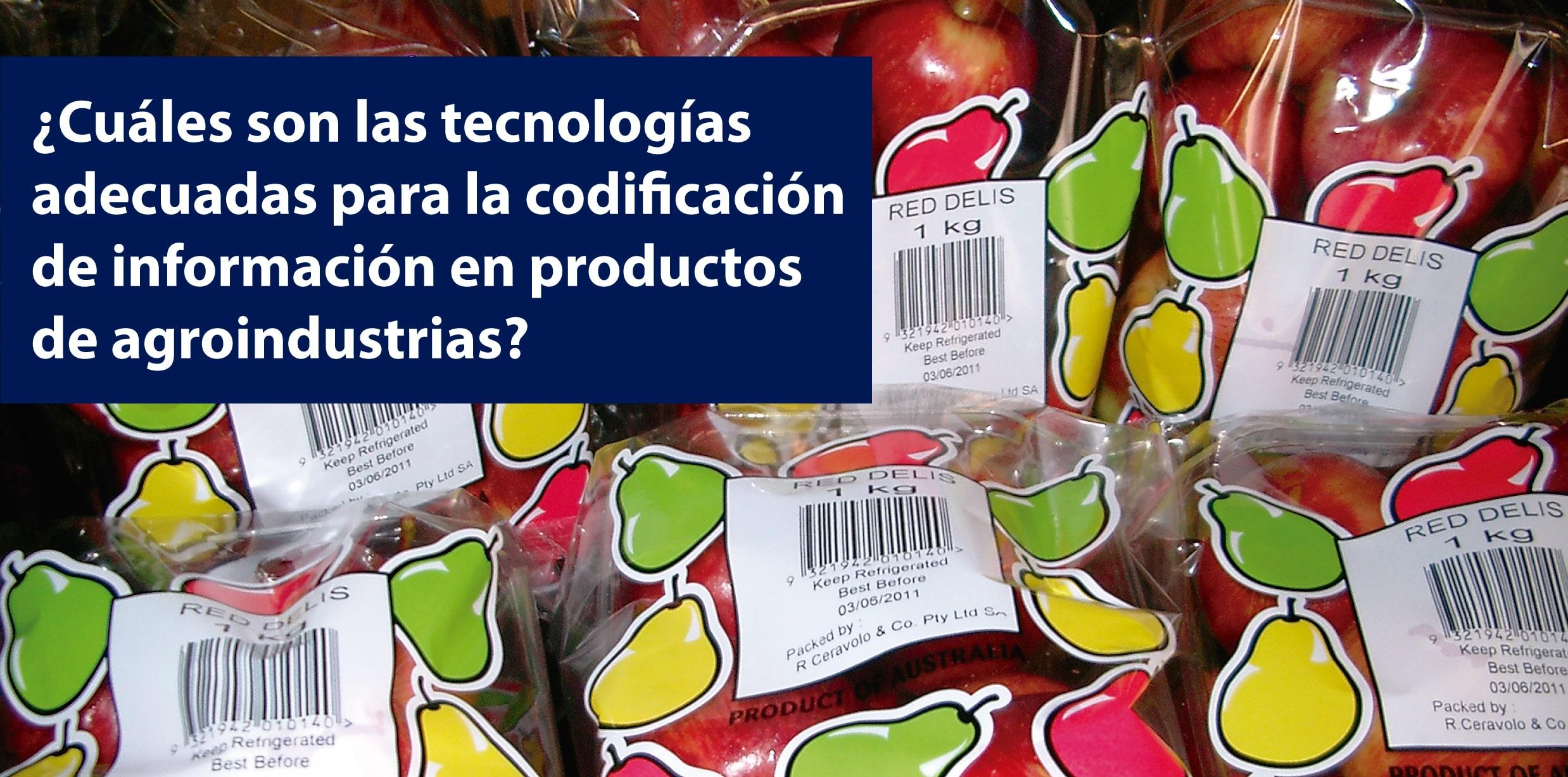 codificación en agroindustrias
