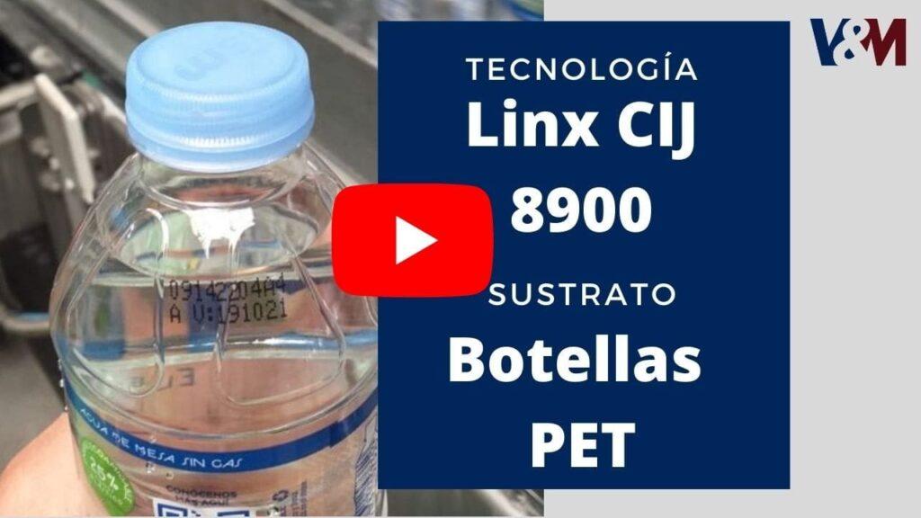 codificación en botellas PET