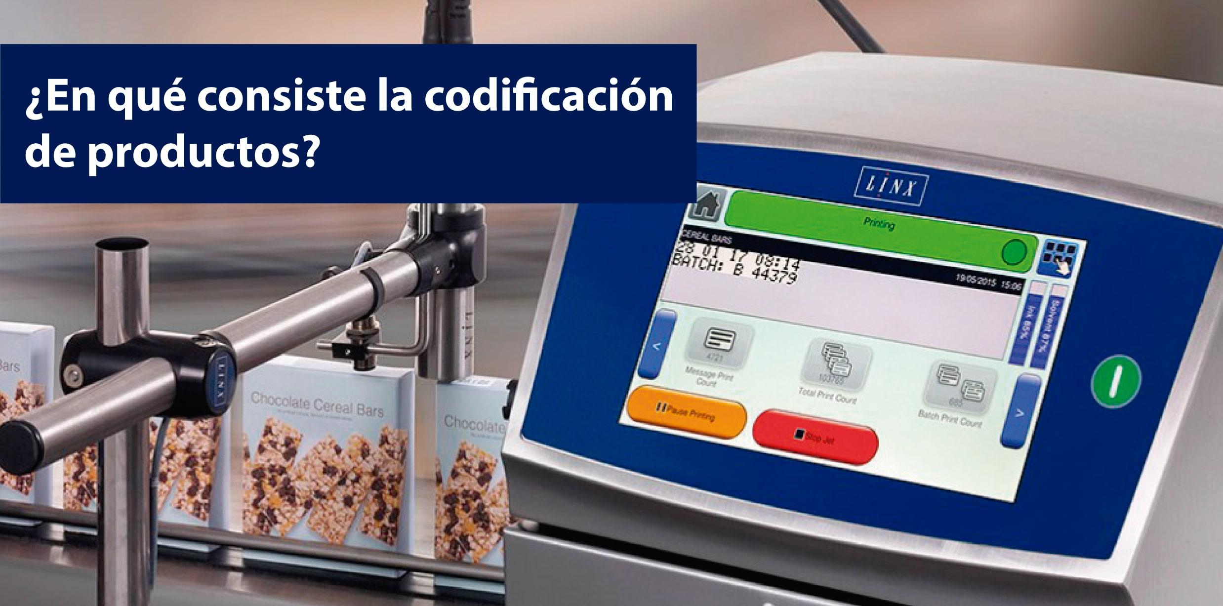codificación de productos