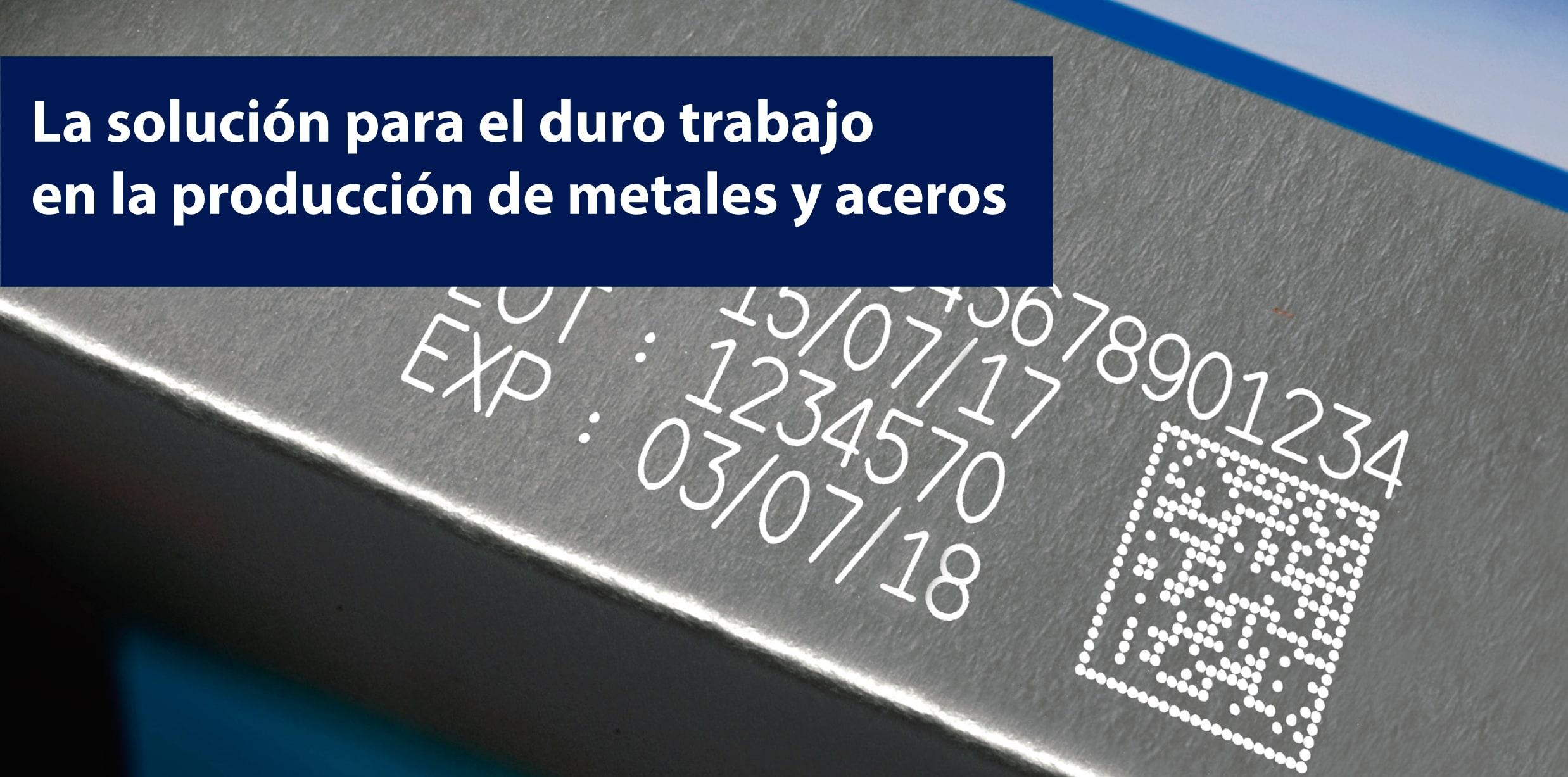 codificación en metales y aceros
