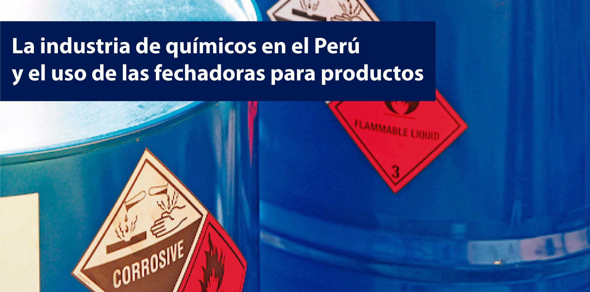 codificadoras para la industria de productos quimicos